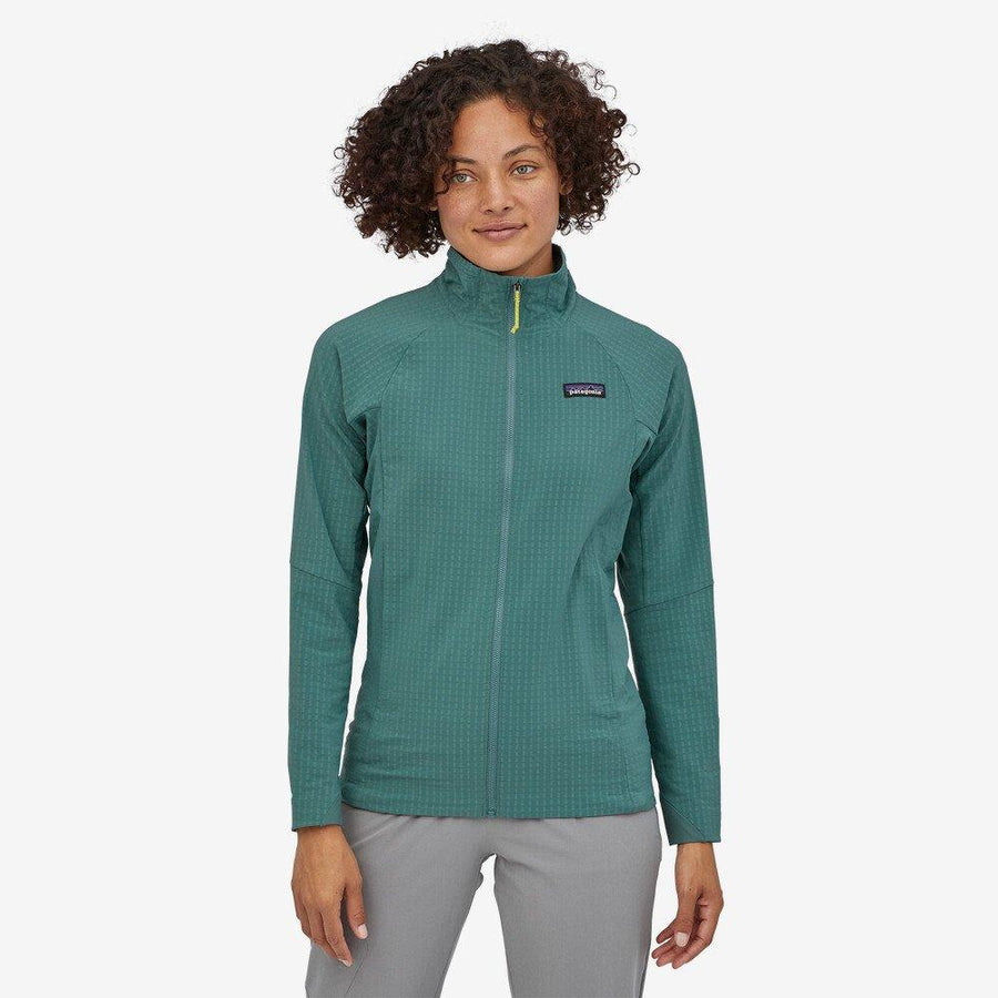 Patagonia R1 Techface Jacket - Women's General Patagonia XS Regen Green