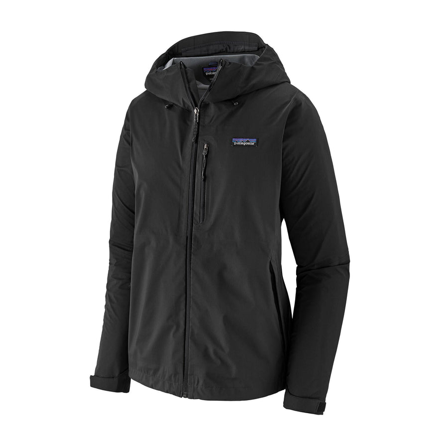Patagonia Rainshadow Jacket (Black) - Womens Outerwear Patagonia