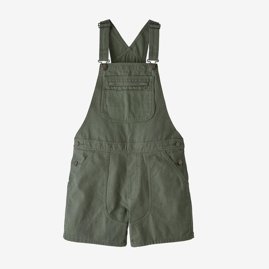 Patagonia Stand Up Overalls - Womens Shorts Patagonia XS Umber Brown