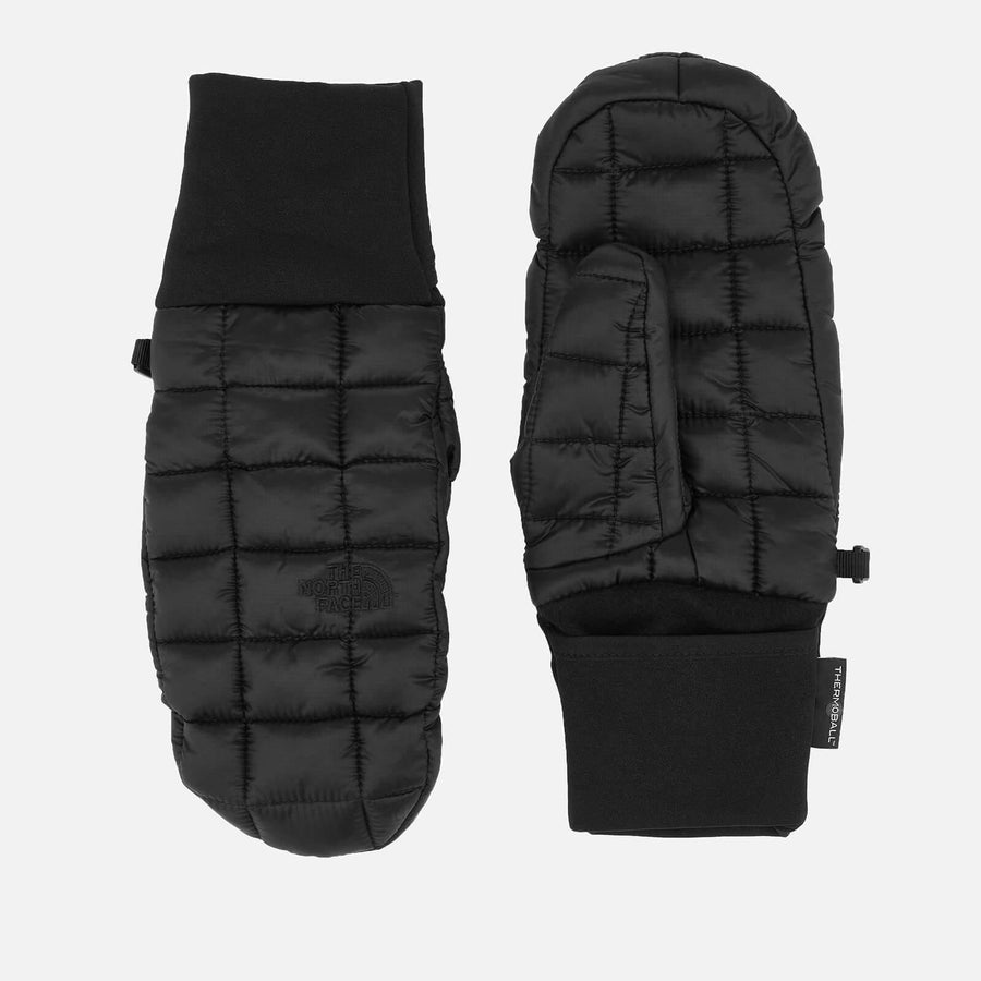 The North Face Thermoball Mittens (Black) Accessories The North Face