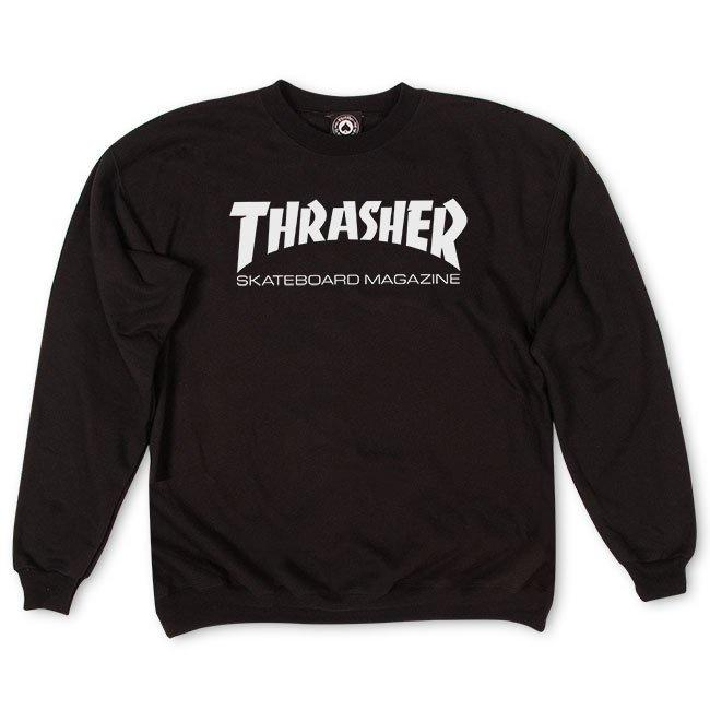 Thrasher Skate Mag Crewneck (Black) General Thrasher