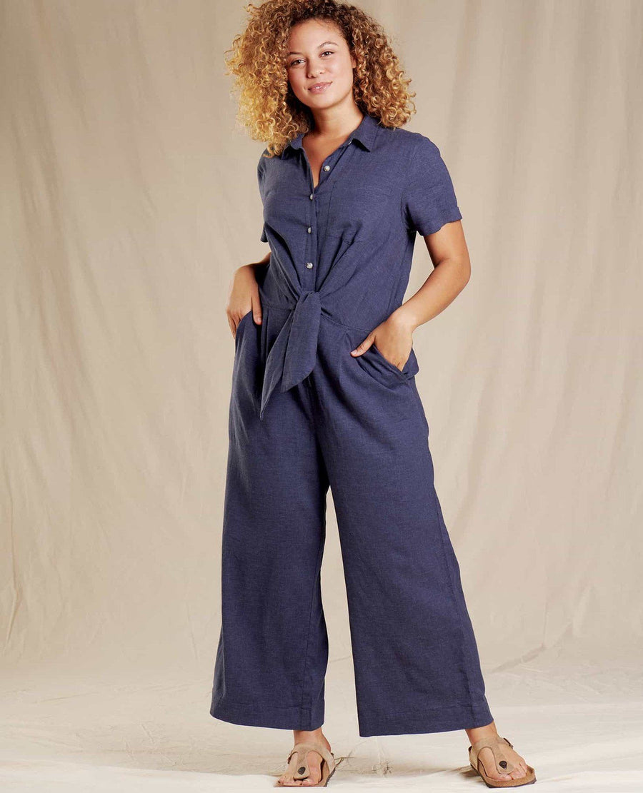 Toad & Co Taj Jumpsuit (True Navy) General Toad&Co.