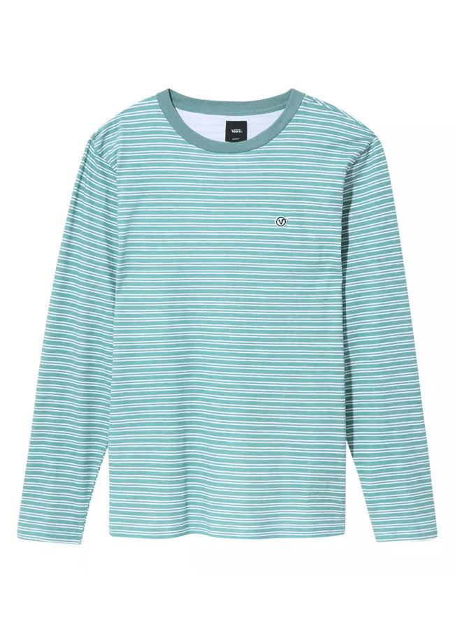 Vans Striped Long-Sleeved T-Shirt General Vans