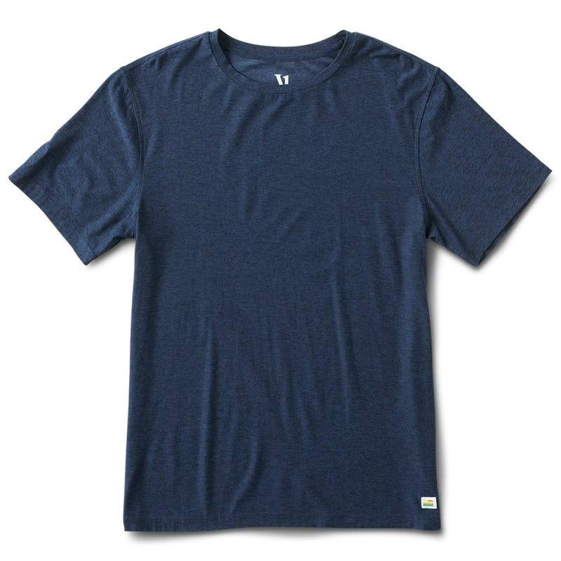 Vuori Strato Tech Tee - Men's General Vuori Charcoal Heather S