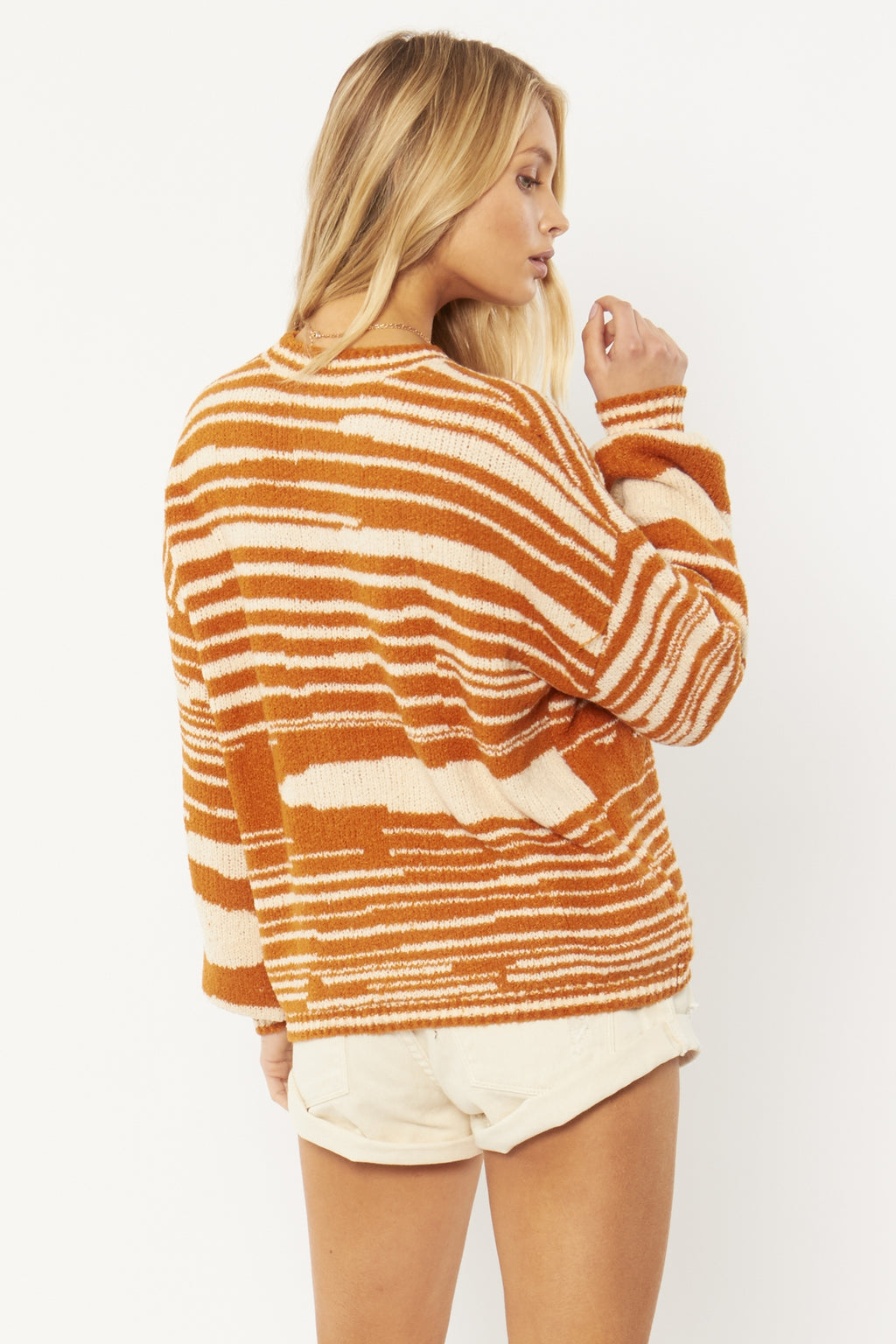 Donna L/S Knit Sweater