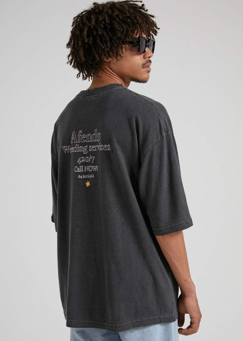 At Your Service Hemp Oversized Tee