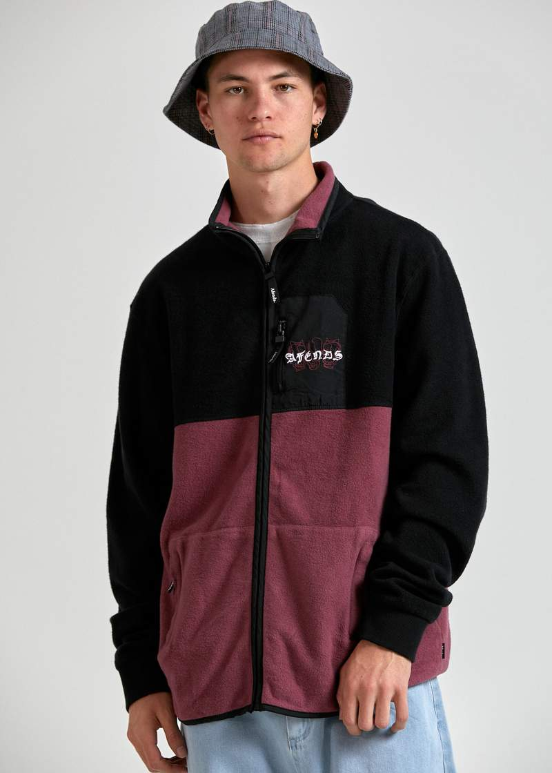 Deadbeat Paneled Zip Thru Multi