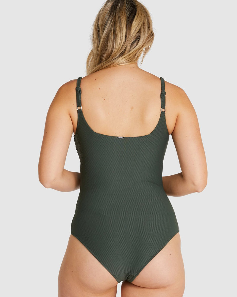 ROCOCCO D-E SQUARE OP- OLIVE - AKWA SURF