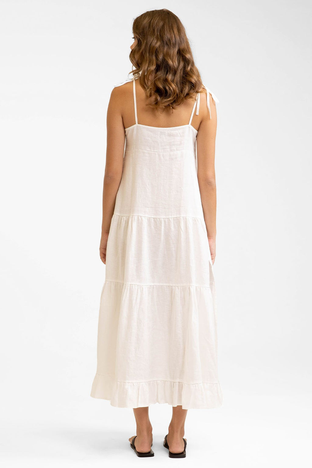 Cool Breeze Maxi Dress Off White