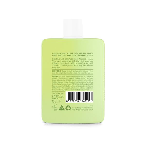 Kakadu Plum Body Milk Moisturiser 200ml - AKWA SURF