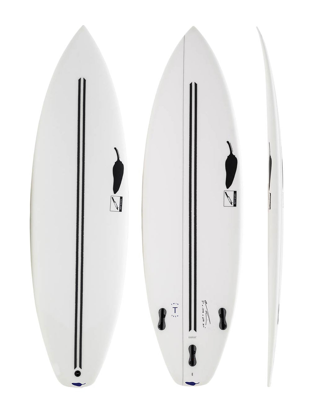Hot Knife 6'2 x 19 7/8 x 2 3/4 x 35.5L - AKWA SURF