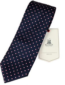 MJ Bale silk ties