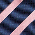 Load image into Gallery viewer, M.J.Bale Navy Silk Tie