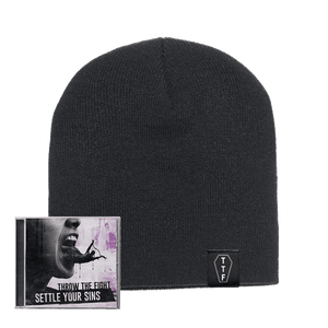Coffin loop tag beanie bundle