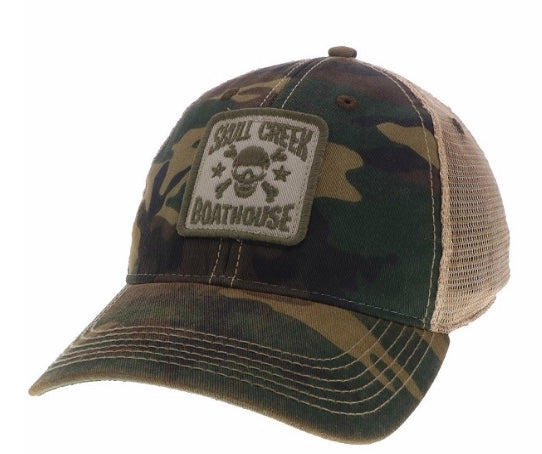 Old Favorite Trucker- Logo- Camo
