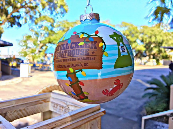 Hand Painted SCB Ornament