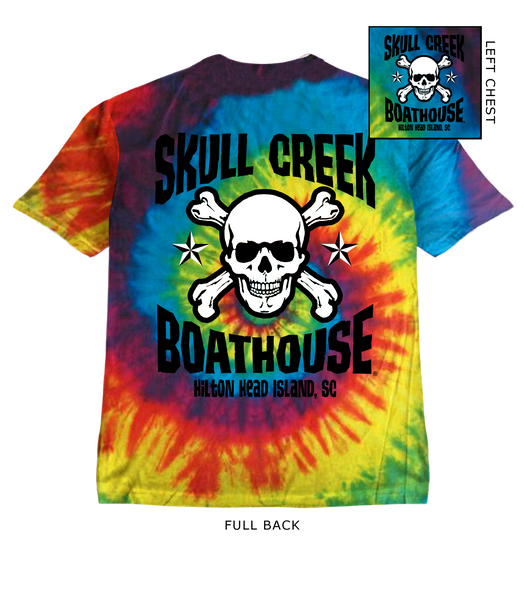 Youth Skull Tie Dye T-Shirt