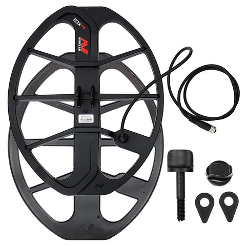 Minelab Equinox Double-D 15 inch Smart Coil with Skid Plate Coil Cover