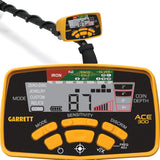 "Garrett ACE 300 Metal Detector with Pro-Pointer AT Underwater Pinpointer and 50"" Travel Bag"