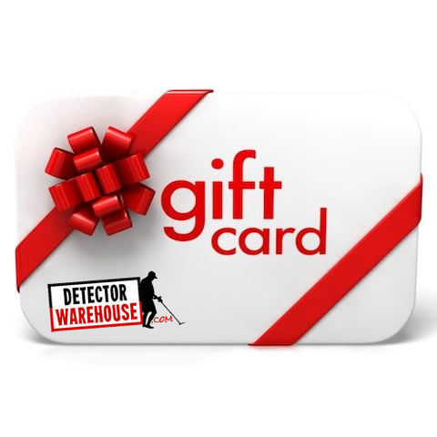 DetectorWarehouse.com Gift Card ($25, $50, $100, $300, $500)