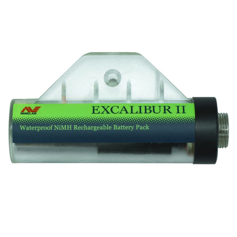 Rechargeable Battery Pack for Minelab Excalibur II & 1000 NiMH
