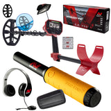 "Minelab Vanquish 440 with Free Pinpointer, Headphones, 10"" Coil with Cover and Bonus Items"