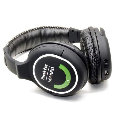 Nokta Makro Green Edition Wireless Headphones for Simplex+