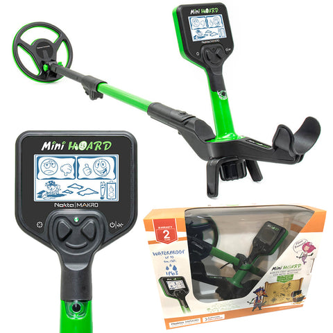 Nokta Mini Hoard Waterproof Kids Metal Detector