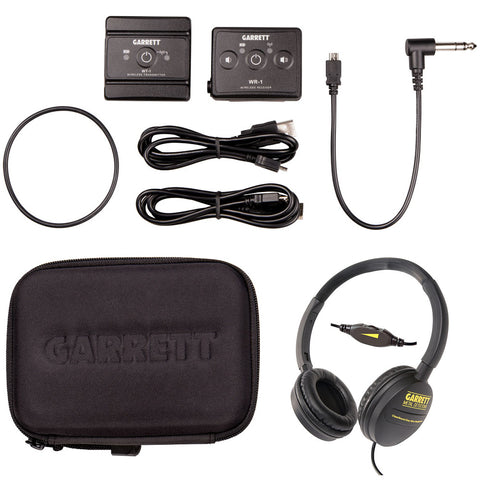 "Garrett Z-Lynk Wireless System with 1/4"" Headphone Kit with ClearSound Headphones"