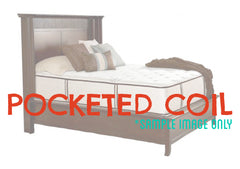 Luxury - Queen - Pocketed Coil Mattress