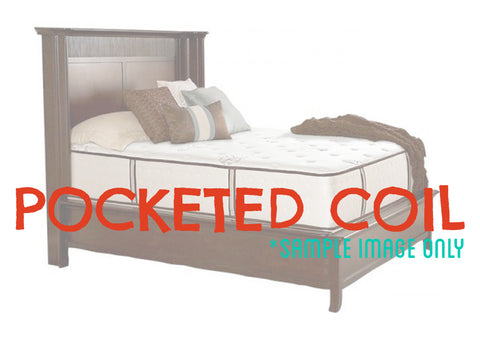 Picture of Luxury - Twin XL - Pocketed Coil Mattress