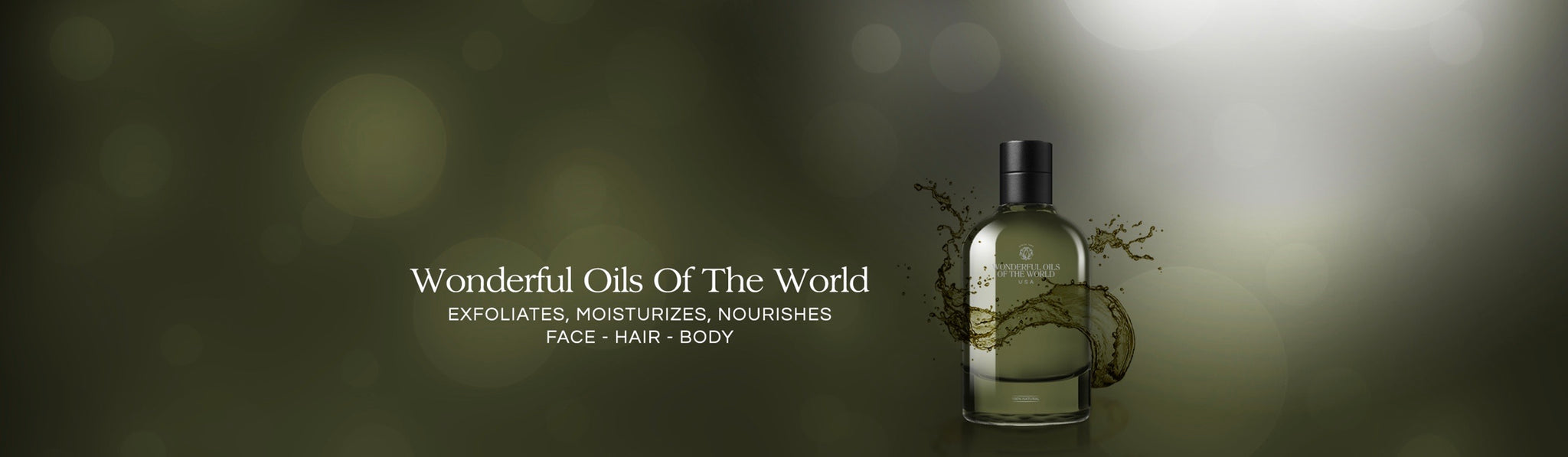 WONDERFUL OILS OF THE WORLD