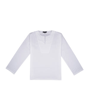 Linen Oasis Long Sleeve Shirt