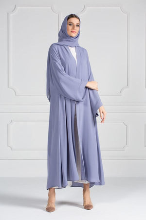 COLORED ABAYA ORDERS - Blueberry Smoothie (AM19)