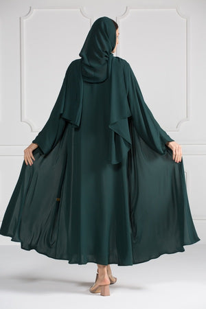 COLORED ABAYA ORDERS - FOREST (AM5)