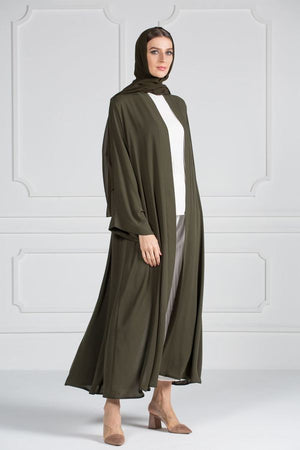 COLORED ABAYA ORDERS - Commander Green (AM6)