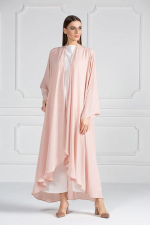 COLORED ABAYA ORDERS - Peach Melba(AM9)
