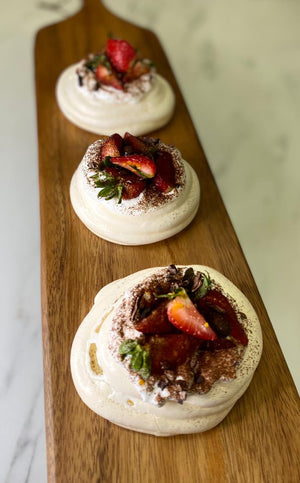 THE SECRET OF THE CHEF - Pavlova by Chef Roberto