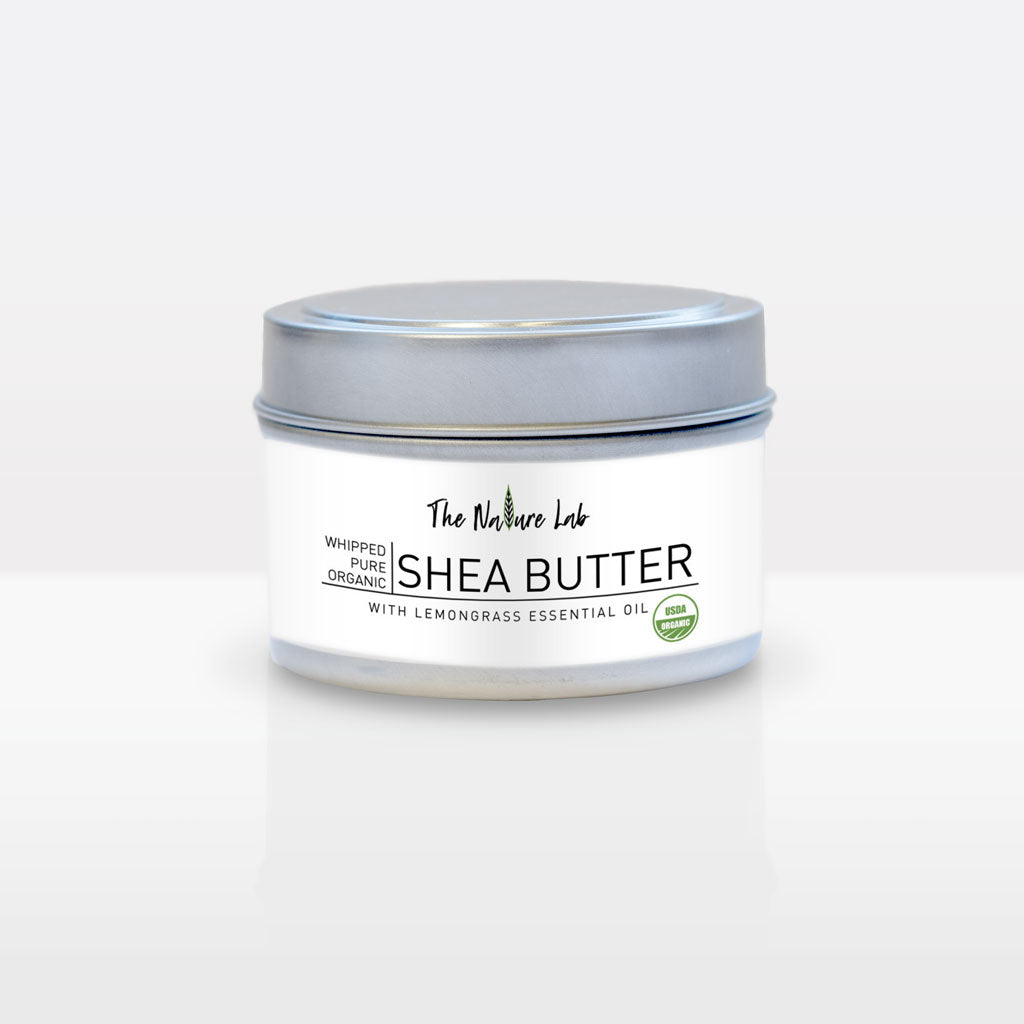 SHEA BUTTER WITH LEMONGRASS ESSENTIAL OIL