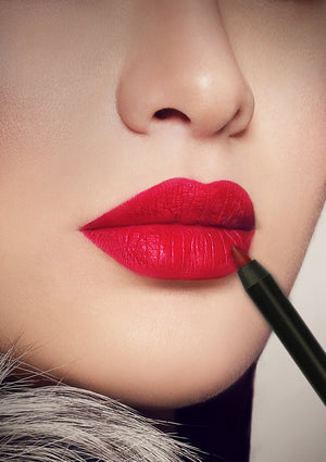 HOUSE OF RAWAN - BURNING RED LIP LINER