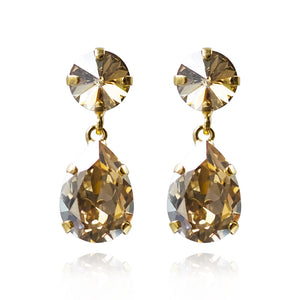 CLASSIC DROP EARRINGS/GOLDEN SHADOW