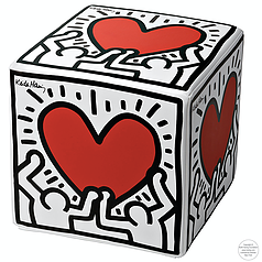 Cubolibre KEITH HARING MAN WITH HEART