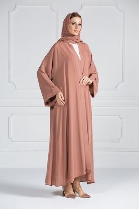 COLORED ABAYA ORDERS - Dusty Coral (AM8)