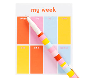 MINI WEEKLY PLANNER PAD CUTE 2019