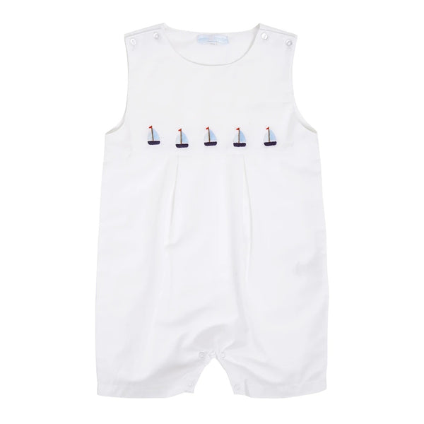 Dungarees With Boats