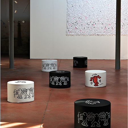 Mini I:Pop KEITH HARING DANCERS WHITE