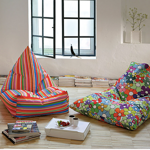 BEANBAG armchair PEGGY FLOWERS
