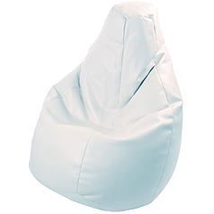 BEANBAG armchair LOLITA ECO LEATHER WHITE