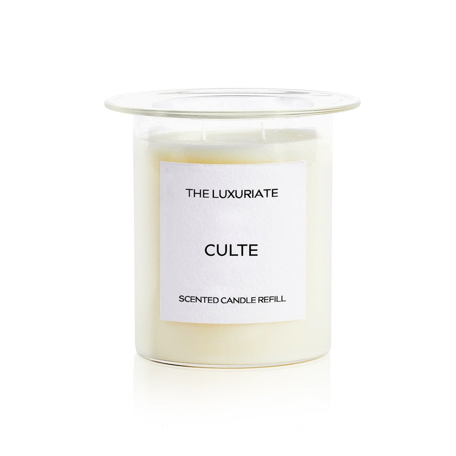 THE LUXURIATE - CLUTE CANDLE INSERT