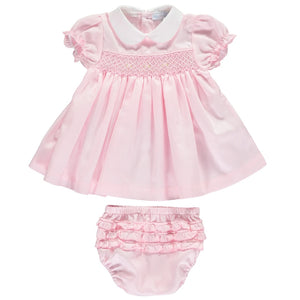 Smocked Dress Set
